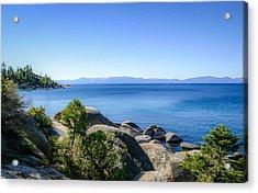 Lake Tahoe Shore Acrylic Print