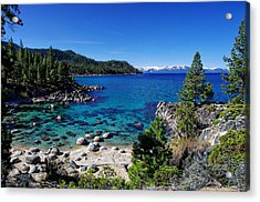 Lake Tahoe Springscape Acrylic Print by Scott McGuire