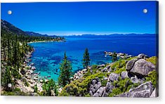 Lake Tahoe Summerscape Acrylic Print