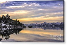 Lake Tahoe Sunrise Acrylic Print
