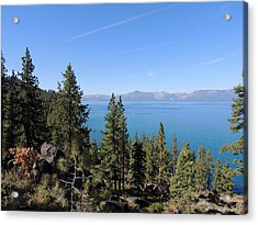 Lake Tahoe Through The Trees Acrylic Print