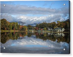 Acrylic Print featuring the photograph Lake Tomahawk by Ben Shields