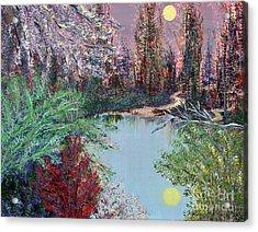 Lake Tranquility Acrylic Print