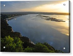 Lake Travis Sunset Acrylic Print