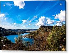 Lake Tulloch Acrylic Print by John Crowe