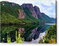 Lake Tysdalsvatnet Norway Acrylic Print