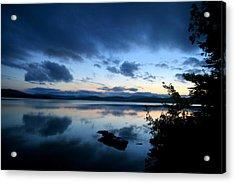 Lake Umbagog Sunset Blues No. 2 Acrylic Print
