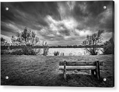 Acrylic Print featuring the photograph Lake View. by Gary Gillette
