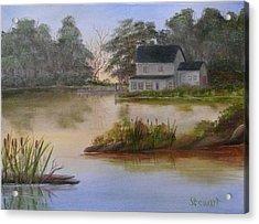 Lakehouse Acrylic Print