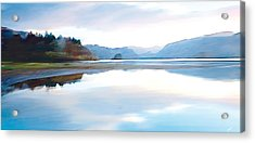 Lakes Acrylic Print