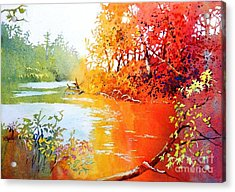 Lakescene 1 Acrylic Print