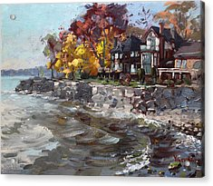 Lakeshore Mississauga Acrylic Print