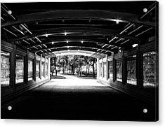 Lakeshore Tunnel Acrylic Print
