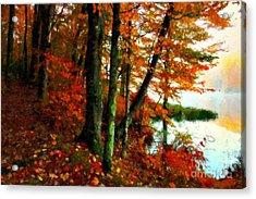 Lakeside Beauty Acrylic Print
