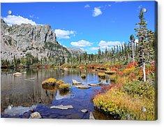 Lakeside Color Acrylic Print