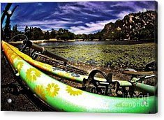 Lakeside Cruzzz Acrylic Print by Scott Allison