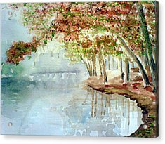 Lakeside In The Carolinas Acrylic Print