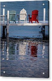 Lakeside Living Number 2 Acrylic Print by Steve Gadomski