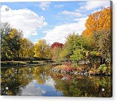 Lakeside Park Acrylic Print by Tiffany Erdman