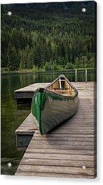 Lakeside Peace Acrylic Print
