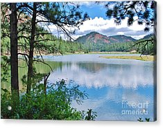 Lakeside Acrylic Print by William Wyckoff