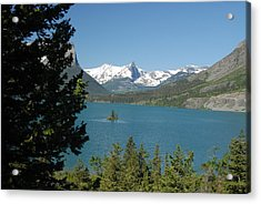 Lakeview In Glacier National Park Acrylic Print