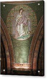 Lakewood Chapel Detail Faith Acrylic Print by T C Hoffman