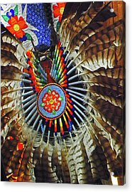 Lakota Feather Dance Acrylic Print
