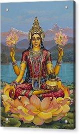 Lakshmi Devi Acrylic Print