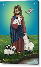 Lamb Of God Acrylic Print