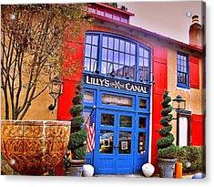 Lambertville Landmarks  Acrylic Print by Rick Todaro