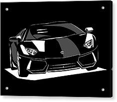 Lamborghini Aventador Acrylic Print by Michael Tompsett
