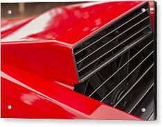 Lamborghini Countach Intake Acrylic Print