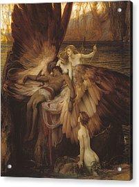 Lament Of Icarus Acrylic Print