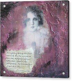 Lament  Acrylic Print by Tree Girly