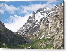 Lamoille Canyon Acrylic Print by Vinnie Oakes