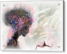 L'amour Perdu Acrylic Print by Freddy Kirsheh