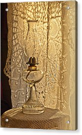 Lamp By The Window Acrylic Print by Lena Wilhite