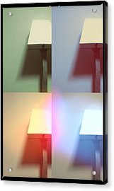 Lamp Acrylic Print by Leapdaybride
