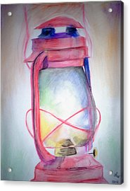 Lamp Unto My Feet Acrylic Print