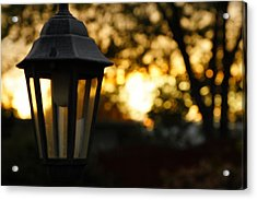 Lamplight Acrylic Print by Photographic Arts And Design Studio