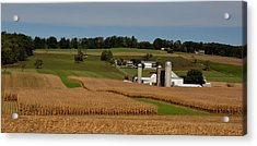 Acrylic Print featuring the photograph Lancaster County Farm by William Jobes