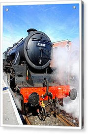 Lancashire Fusilier 45407 Acrylic Print by The Creative Minds Art and Photography