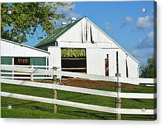 Lancaster County Tobacco Barn Acrylic Print