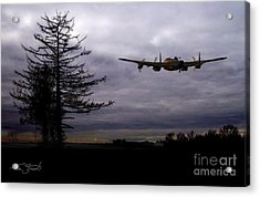 Lancaster Flight  Acrylic Print by Tom Straub