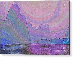 Land Of Dreams Acrylic Print by Rosemary Calvert