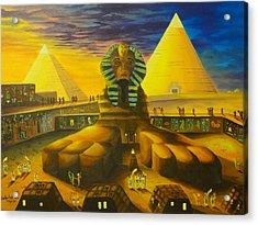 Land Of Pharaohs Acrylic Print