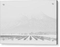 Land Of Snow Acrylic Print