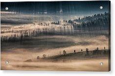 Land Of Thousands Shadows Acrylic Print