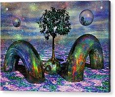 Land Of World 8624028 Acrylic Print by Betsy Knapp